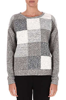 10 CROSBY Patchwork sweatshirt