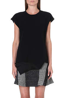 10 CROSBY Layered crepe top