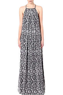 10 CROSBY Patterned maxi dress