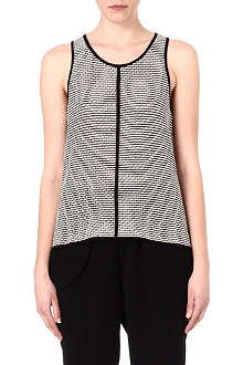 10 CROSBY Knitted sleeveless top