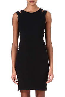 JONATHAN SIMKHAI Double-strap knitted dress