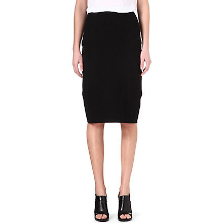 JONATHAN SIMKHAI Knitted pencil skirt (Black