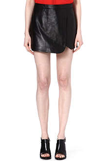 JONATHAN SIMKHAI Leather skort