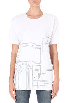 WILLIAMS BRITISH HANDMADE Luggage t-shirt