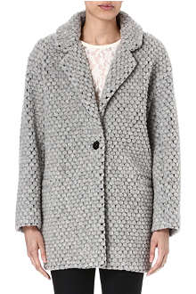DESIGNERS REMIX Kitcardy boxy knitted coat