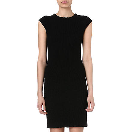 DESIGNERS REMIX Montes jacquard dress (Black