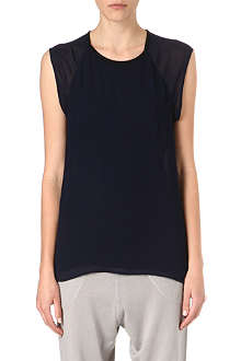 DAGMAR Sheer panel top