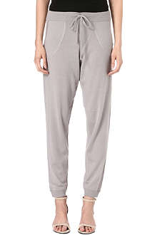 DAGMAR Merino wool jogging bottoms