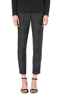 DAGMAR Checked trousers