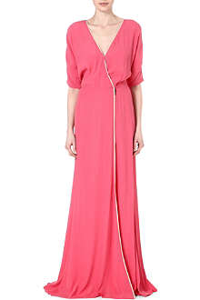 DAGMAR Lillian crepe maxi dress