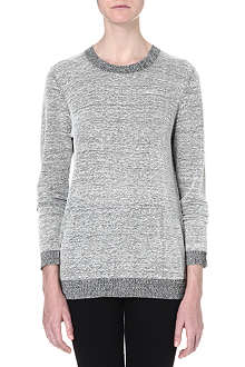 DAGMAR Cotton-blend grey sweatshirt