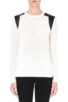DAGMAR Monochrome knitted sweater