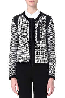 DAGMAR Textured cotton jacket