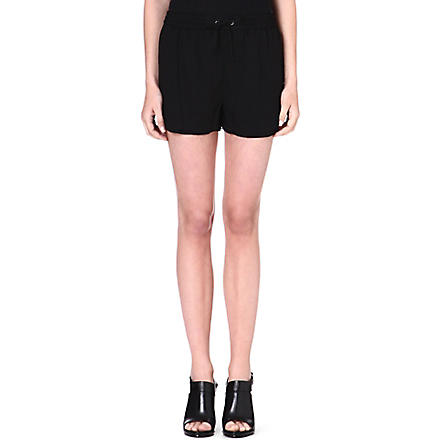 DAGMAR Jersey shorts (Black