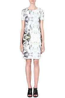 DAGMAR Geometric print dress