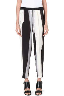 DAGMAR Monochrome stripe trousers