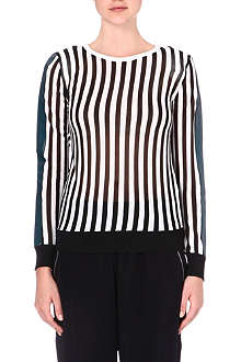 GOLDEN GOOSE Costanza striped top