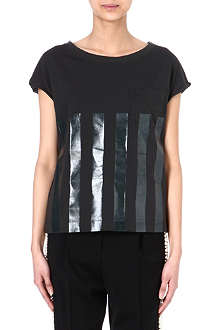 GOLDEN GOOSE Lola stripe t-shirt