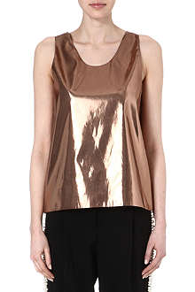 GOLDEN GOOSE Metalic top