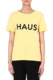GOLDEN GOOSE Haus logo t-shirt