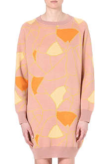 STINE GOYA Abstract knitted dress