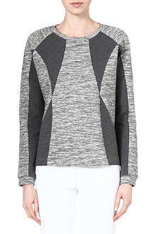 DESIGNERS REMIX Two-tone sweatshirt