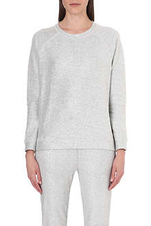 DESIGNERS REMIX Metallic cotton sweatshirt