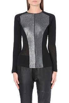 DESIGNERS REMIX Ly metallic-panel top