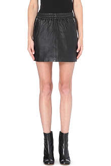 DESIGNERS REMIX Eve leather skirt
