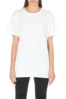 OFF WHITE Diagonals cotton t-shirt
