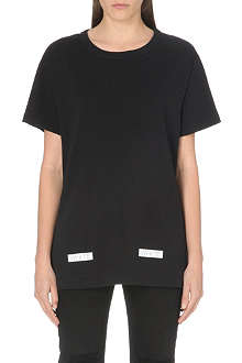 OFF WHITE Diagonals cotton t-shirt