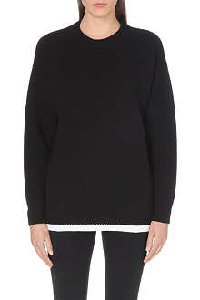 OFF WHITE Diagonals wool jumper