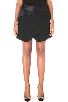 DION LEE Crepe mini skirt