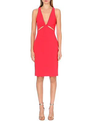 DION LEE Twist cutaway dress