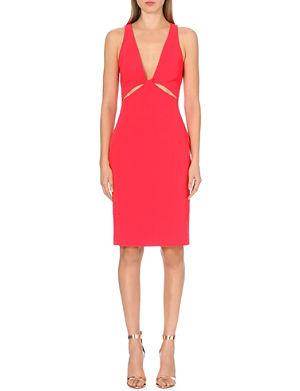 DION LEE Twist cutaway dress