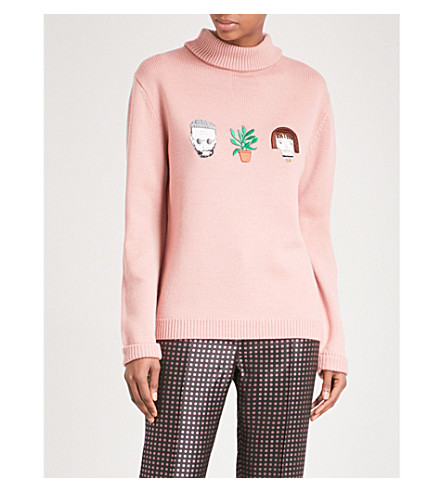 SHRIMPS Hunk wool jumper (Rose