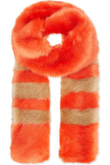 SHRIMPS Ivana faux fur scarf