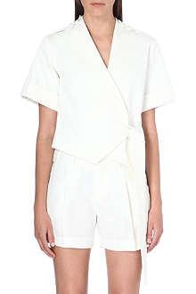 SELF-PORTRAIT Kimono wrap top