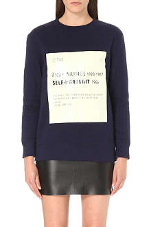 SELF-PORTRAIT Signature sweatshirt