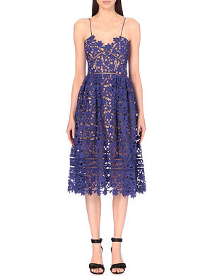 SELF-PORTRAIT Azeaelea lace dress