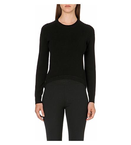 JONATHAN SIMKHAI Utility knitted jumper (Black