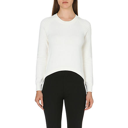 JONATHAN SIMKHAI Utility knitted jumper (White