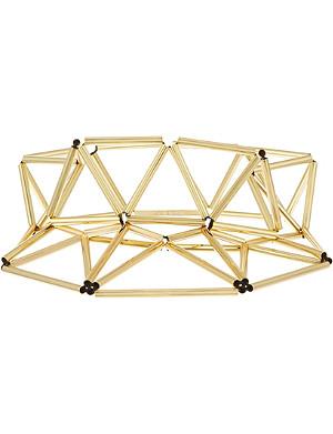 WXYZ Gold-toned visor