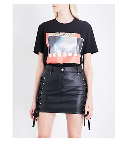 VERSUS VERSACE Versus x Zayn stretch-jersey T-shirt (Black