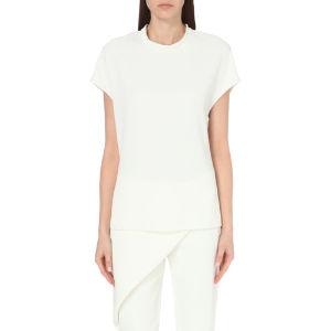 Whitewash woven top