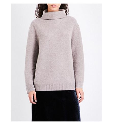 VINCE Turtleneck cashmere jumper (H+taupe