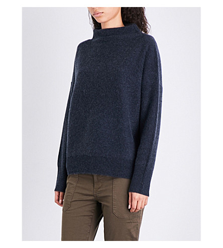 VINCE Turtleneck cashmere jumper (H+carbon