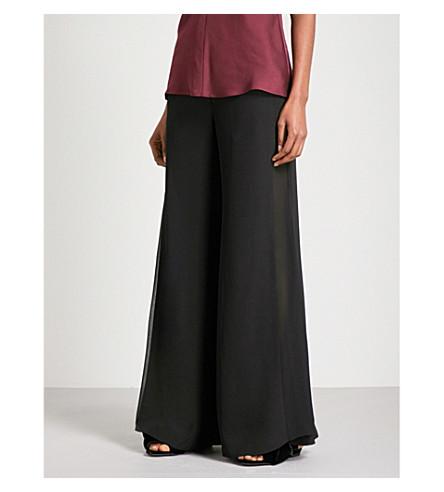 FINERY LONDON赤柱喇叭绉裤子 (黑色