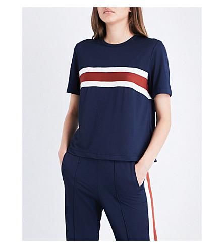 GANNI Dubois jersey T-shirt (Total+eclipse