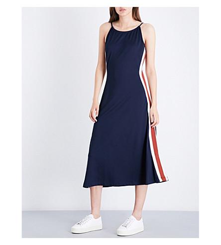 GANNI Dubois loose-fit jersey dress (Total+eclipse